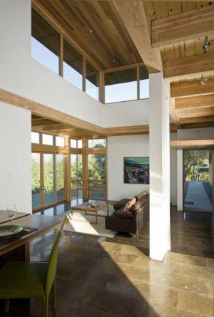 séjour et salon - HudsonPanos Residence par Swatt & Miers Architects - Healdsburg, Usa