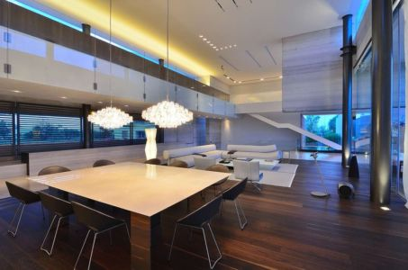 séjour et salon - JRB House par Reims Arquitectura - Santa Domingo, Mexique