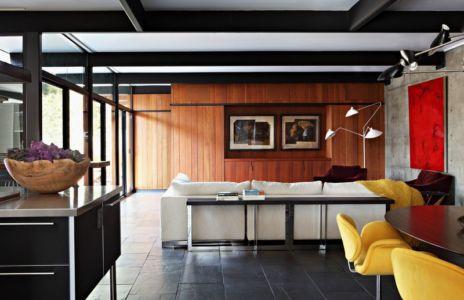 séjour et salon - La Cañada Residence par Jamie Bush & Co. - Sierra Madre, Usa