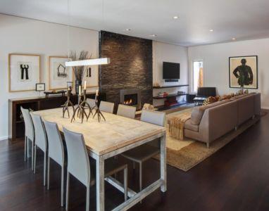 séjour et salon - Midvale Courtyard House par Bruns Architecture - Madison, Usa