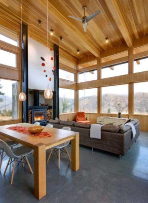 séjour et salon - Nahahum Canyon House par Balance Associates - Nahahum Canyon, Usa