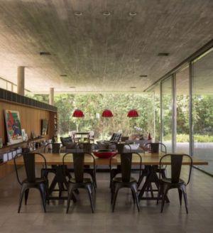 séjour et salon - Redux House par Studio mk27 - Brésil