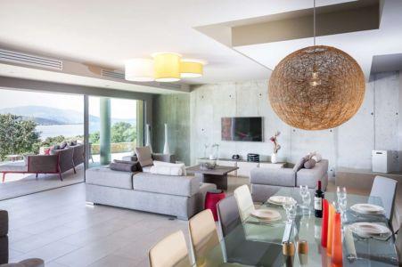 séjour et salon - Villa Zed à Propriano, Corse