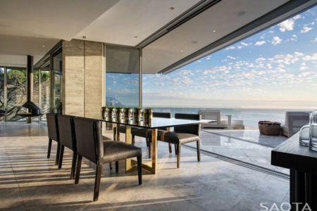 séjour et terrasse - Clifton 2A par Saota - Le Cap, Afrique du Sud