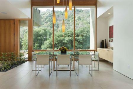 séjour & grande baie vitrée - sinbad-creek par Swatt Miers Architects - Sunol, USA