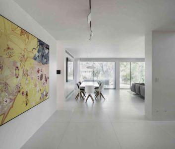 séjour & salon - Aluminum-Home par Studio-de-Lange - Kfar-Shmaryahu, Israël