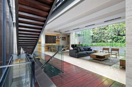 séjour & salon - Ben House-GP par Wahana Architects - Jakarta, Indonésie