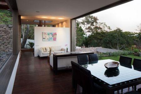 séjour & salon - Garden-House par Cincopatasalgato - El Salvador