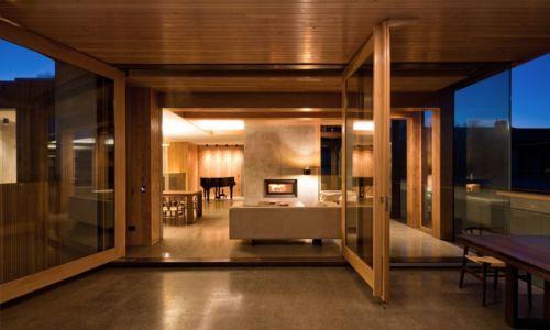 séjour & salon - Home Overhanging par MGArchitects - Tasmanie, Australie