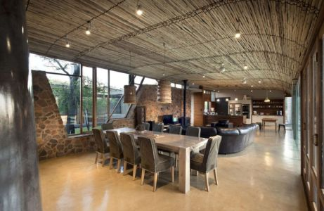 séjour & salon - House-Mouton par Earthworld Architects and Interiors - Pretoria, Afrique du Sud