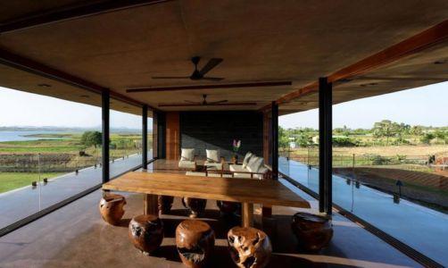 séjour & salon - Panorama-House par Ajay Sonar - Nashik, Inde