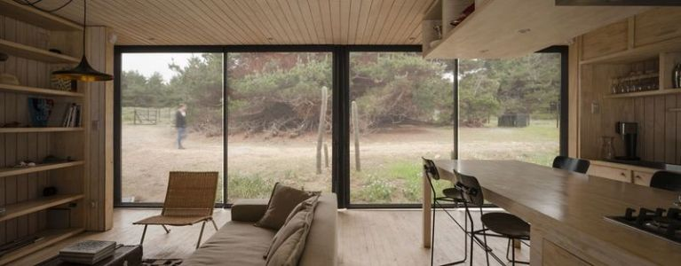 séjour & salon - Remote-House par Felipe Assadi - Pichicuy, Chili