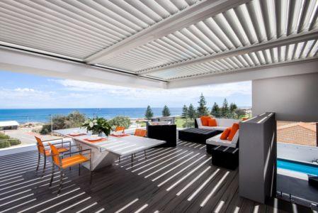 séjour & salon - uneTrigg-Residence par Hiliam Architects - Trigg WA, Australie
