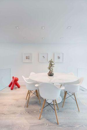 salle à manger - Berryman-Street-Residence par AUDAX architecture - Ontario, Canada