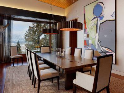 salle à manger - Butte Residence par Carney Logan Burke Architects - Jackson, Usa