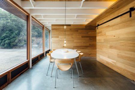 salle à manger - Invermar House par Moloney Architects - Ballarat, Australie