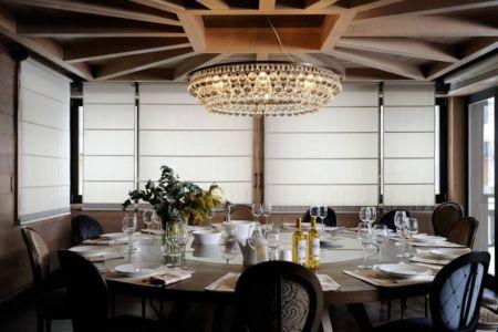 salle à manger - Luxury Chalet par Jean-Marc and Anne-Sophie Mouchet - Courchevel, France