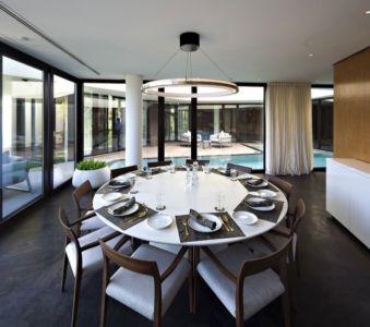 salle à manger  - Mop House par AGI Architects - Al Nuzha, Koweït