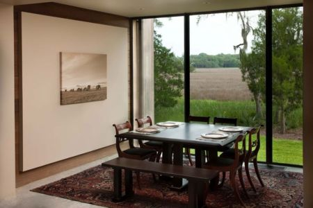salle à manger - SC Modern I par SBCH Architects - Bray's Island, Sheldon, Usa