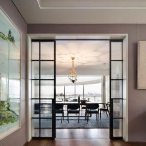 salle à manger - Waterfront House par Luigi Rosselli Architects - Sydney, Australie