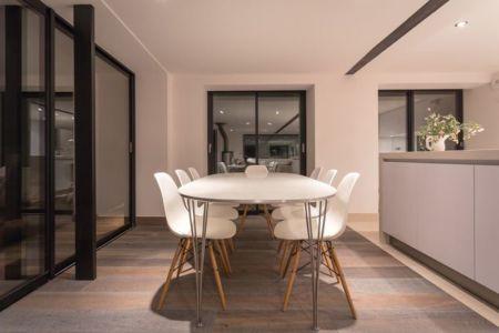 salle à manger - chalet-dag par Chevalier Architectes - Chamonix, France