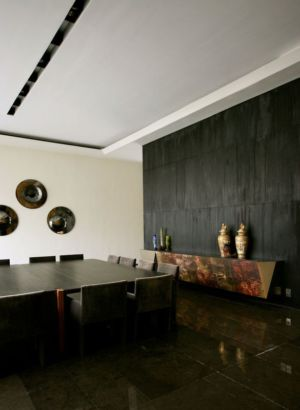 salle à manger - desert-rose par Massimiliano Camoletto - Koweit.