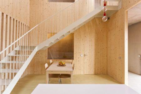 salle à manger - g-house par Esau Acosta - El Sauzal, Espagne