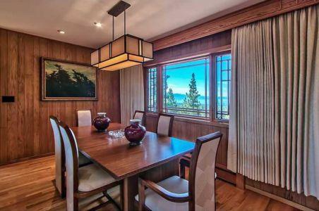 salle à manger - lake-view-cabin - Nevada, USA