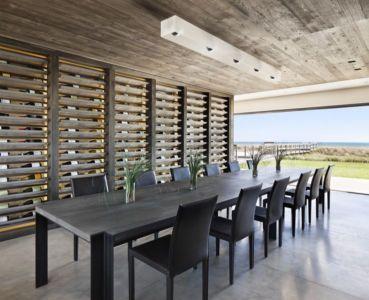 salle à manger - sagaponack par Bates Masi Architects - Sagaponack, USA