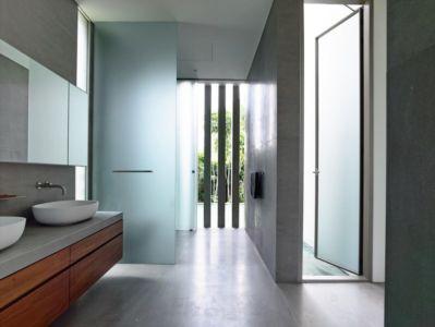 salle de bains - 59BTP House par ONG&ONG - Singapour