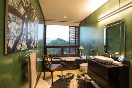 salle de bains - Aloe Ridge House par Metropole Architects - Kwa Zulu Natal, Afrique du Sud