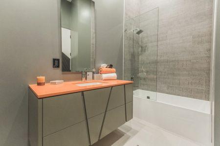 salle de bains - Angular-Lines par Amit Apel - Los Angeles, USA
