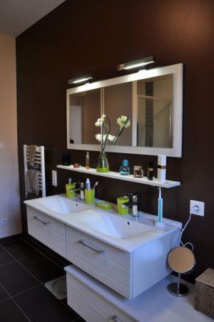 salle de bains - Apple-House par Val de Saône Bâtiment - Mâcon, France