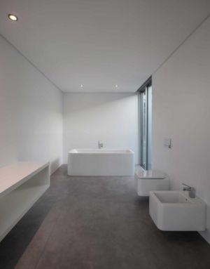 salle de bains - BE House par Spaceworkers - Paredes, Espagne
