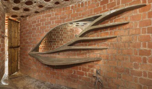 salle de bains - Brick House par iStudio architecture - Wada, Inde
