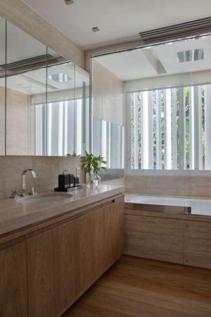 salle de bains - Brise House par Gisele Taranto Arquitetura - Rio de Janeiro, Brésil