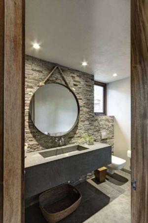 salle de bains - Casa MM par Elías Rizo Arquitectos - Mexique