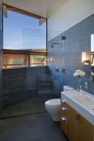 salle de bains - Cedar Park House par Peter Cohan - Seattle, Usa