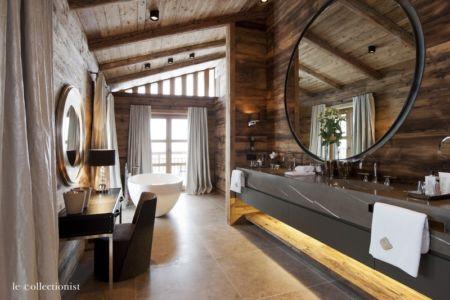 salle de bains - Chalet Carl à louer à Oberlech en Autriche - Le Collectionist