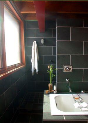 salle de bains - Ellis Park House par Altius Architecture - Toronto, Canada
