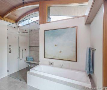 salle de bains - Farm-House par William McDonough + Partners - Californie, USA