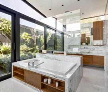 salle de bains - Garden house par VGZ Architecture - Mexico, Mexique