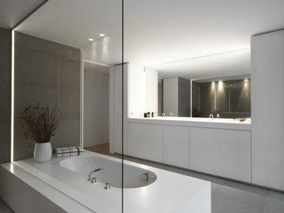 salle de bains - HS Residence par Cubyc Architects - Bruges, Belgique