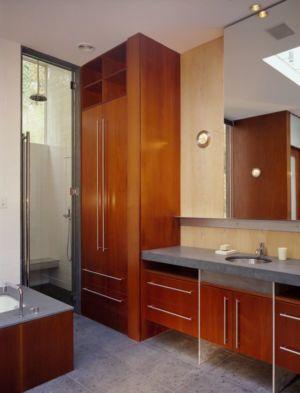 salle de bains - Hargrave-Residence par Robert M. Gurney Architect - Maryland, Etats-Unis