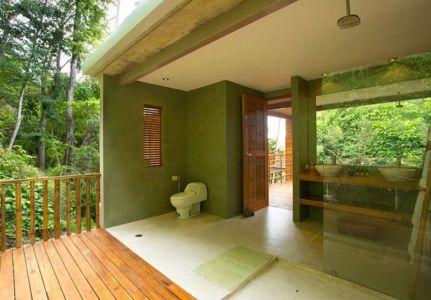 salle de bains - Holiday House par Benjamin Garcia Saxe - Costa Rica