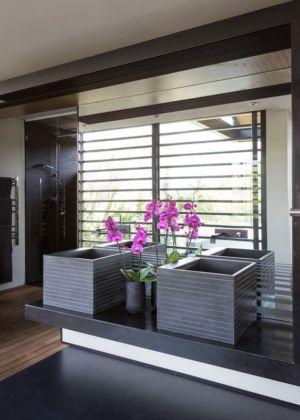 salle de bains - House Blair Atholl par Nico van der Meulen Architects - Blair Atholl, Afrique du Sud