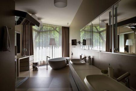 salle de bains - House-Kharkiv par Sbm studio - Kharkiv, Ukraine