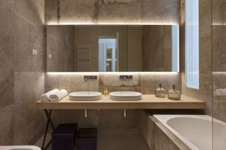 salle de bains - House Sperone par Studio Metrocubo - Novigrad, Croatie