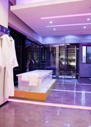 salle de bains - House Tsi par Nico van der Meulen Architects - Afrique du Sud