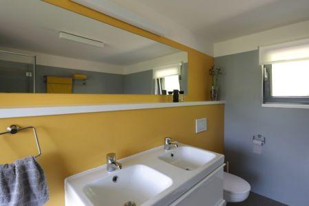salle de bains - House Vaňov par 3-1architekti - Vaňov, République Tchèque